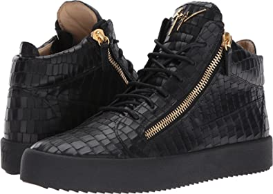 a5e1da15fd348 Amazon.com | Giuseppe Zanotti Men's May London Mid Top Zayn Sneaker ...
