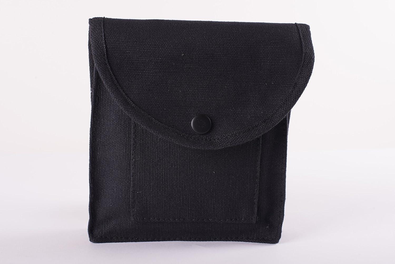 Stansport Cotton Canvas Utility Pouch Black