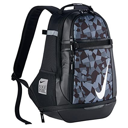 san francisco a19a2 30fe9 Amazon.com  Nike Vapor Select 2.0 Graphic Backpack Black White BA5357-010   Sports   Outdoors