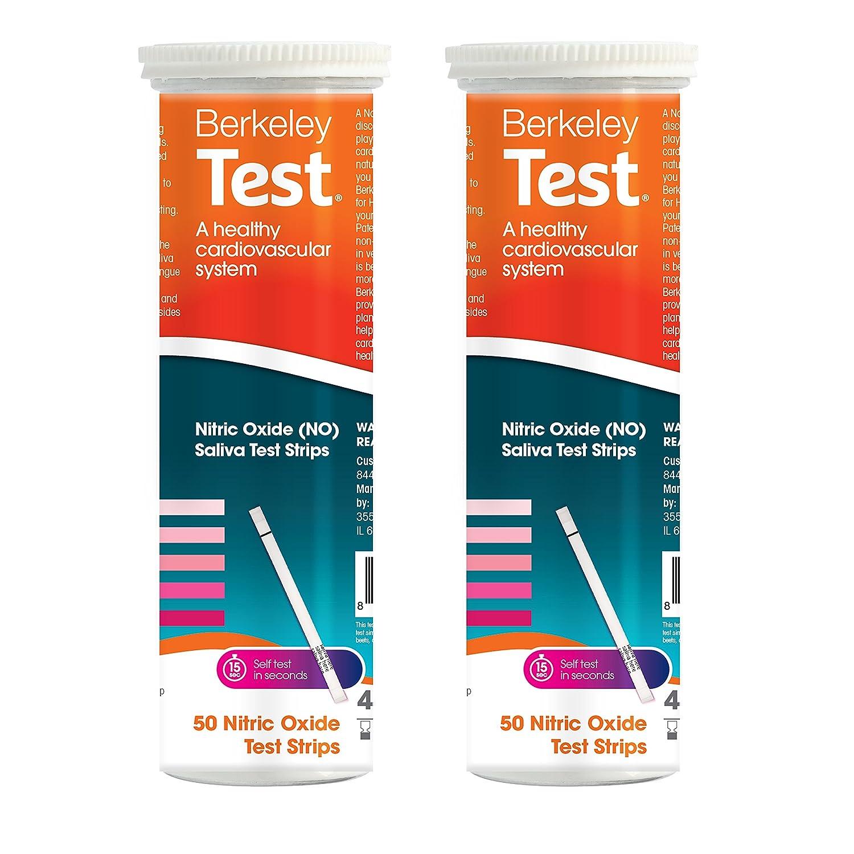 Best Nitric Oxide Test Strips: Berkeley Test Nitric Oxide Test Strips Used Worldwide by Olympians and Elite Athletes. (100)