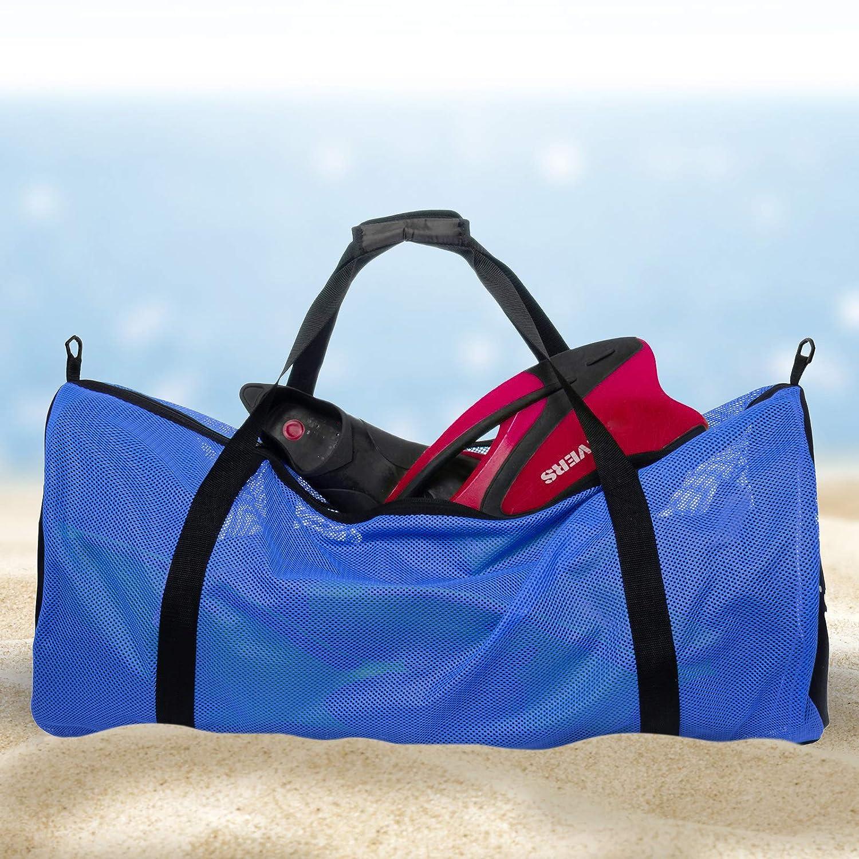 Amazon.com: Bolsa de buceo de malla de Lish: bolsa de equipo ...