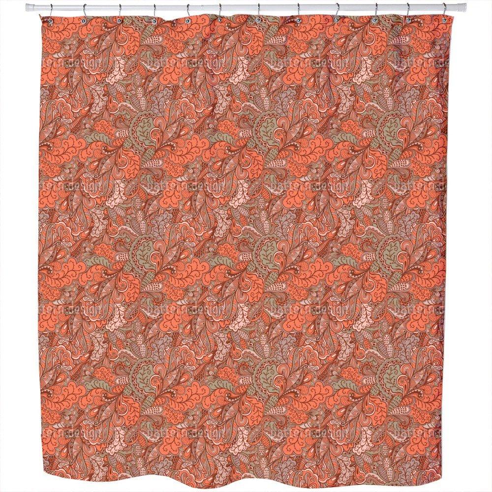 Uneekee Oriental Fantasies Shower Curtain: Large Waterproof Luxurious Bathroom Design Woven Fabric by uneekee (Image #1)