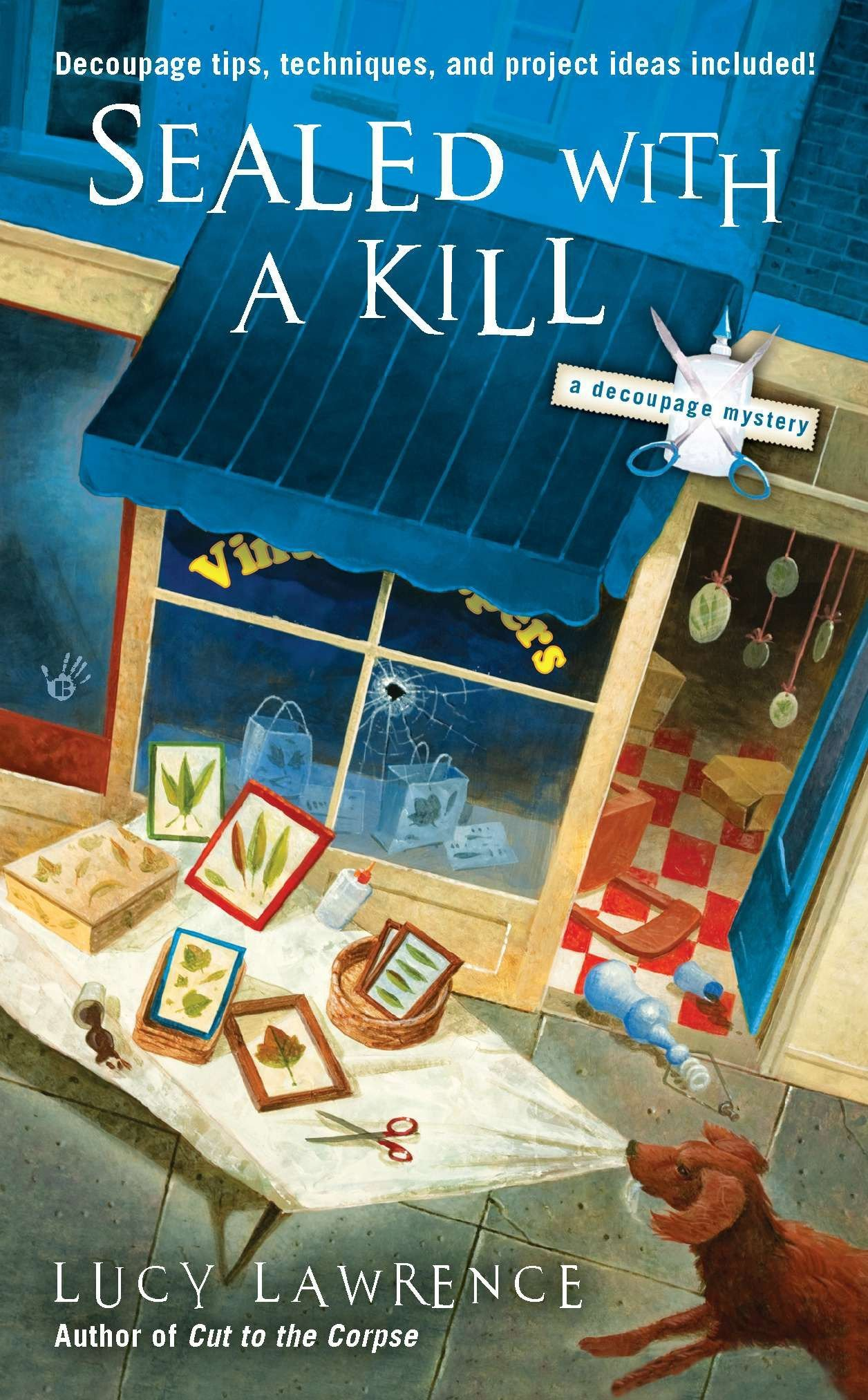 Sealed with a Kill (A Decoupage Mystery) ebook