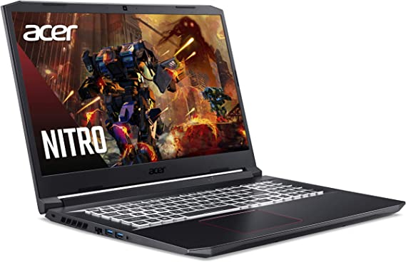 Acer Nitro 5 AN517-52-555T 17 Zoll Test