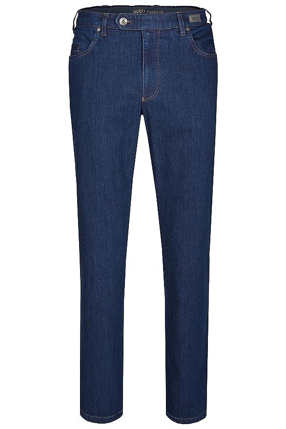 aubi: Herren Sommer Jeans Hose Stretch aus Baumwolle High