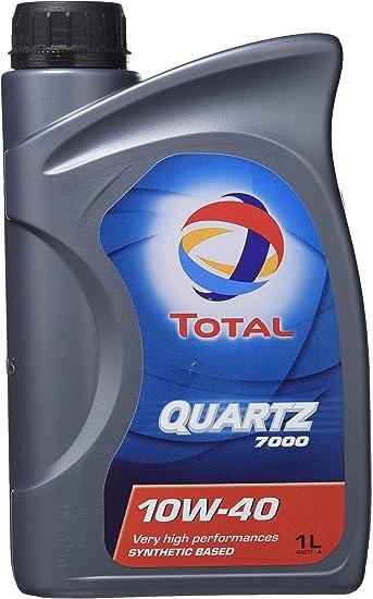 Total Quartz 7000 10w40 Engine Oil Tot 166049 1 Litre Auto