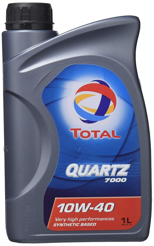 Total Quartz - 7000 10w40 Engine Oil tot-166049-1 Litre: Amazon.es: Coche y moto