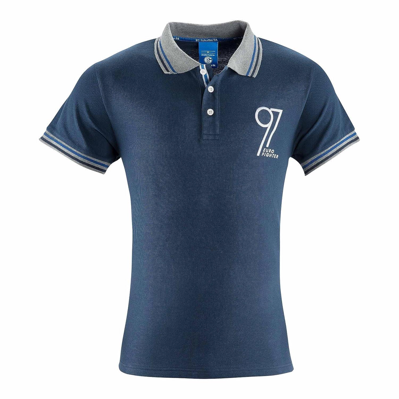 FC Schalke 04 Herren Polo-Shirt Eurofighter 97