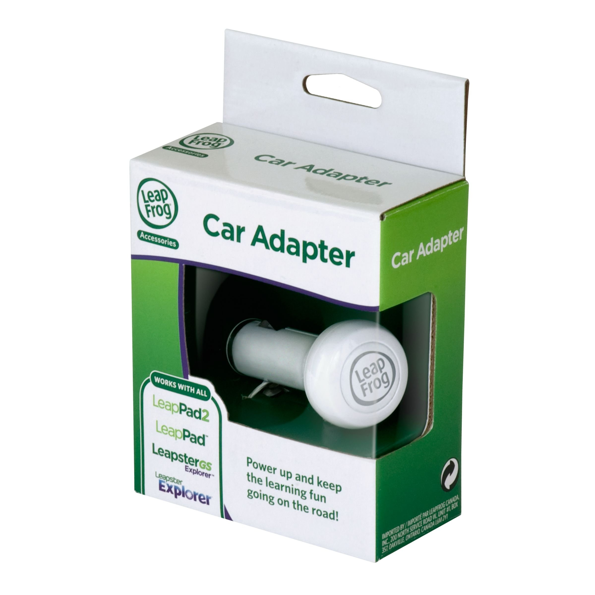 LeapFrog Car Adapter (Works with all LeapPad2 and LeapPad1 Tablets, LeapsterGS, and Leapster2) by LeapFrog (Image #4)