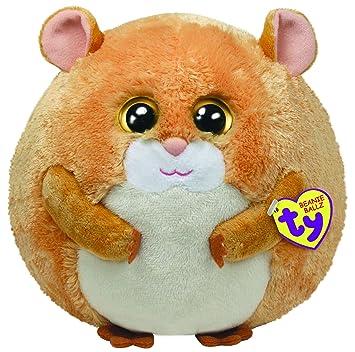 e7d2ec45f4b TY Beanie Ballz Flash the Soft Hamster  Amazon.co.uk  Toys   Games