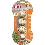 8in1 Delights Kaubälle (gesunder Kausnack in Ballform für Hunde mit echtem Hähnchenfleisch), verschiedene Größen