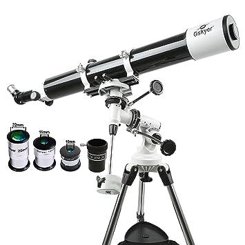 Gskyer EQ 80900 Telescope, German Technology Telescope,Starw...