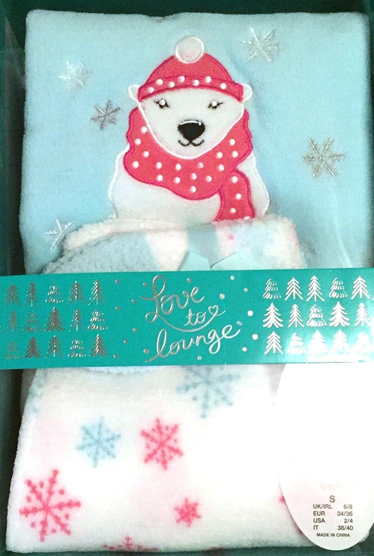 Primark Cozy oso polar pijama en caja de regalo Set - Adulto Tamaño pequeño: Amazon.es: Belleza