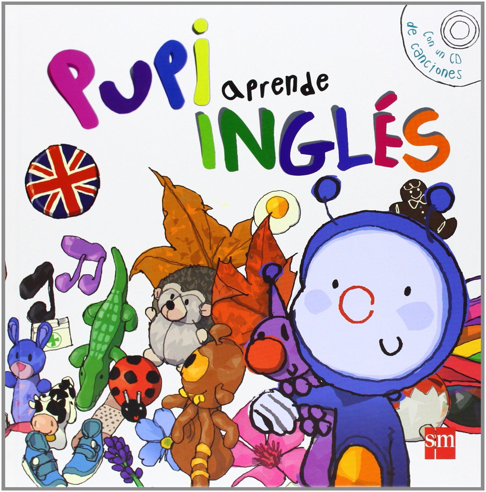 PUPI APRENDE INGLES + ESTUCHE SM: 9788467565355: Amazon.com ...
