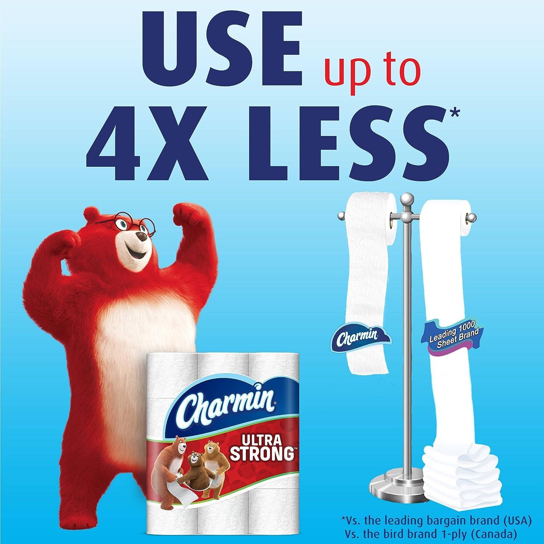 Amazon.com: Charmin Ultra Strong Flushable Toilet Paper, Charmin\'s ...