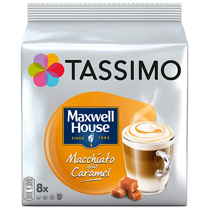 TASSIMO Maxwell House - Paquete de 5 cápsulas de vainas de café y ...