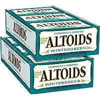 12-Pack Altoids Classic Wintergreen 1.76 Oz Breath Mints Tin