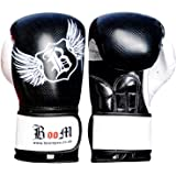 New High Quality BooM Pro Maya Leather Kick Boxing Training Gloves MMA Sparring Punch Bag.(FREE UK SHIPPING)