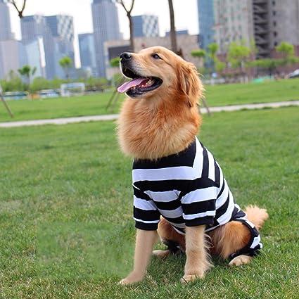 PLHF Ropa para perros Perros grandes Perro Golden retriever Samoyedo Primavera y verano Perros medianos verano