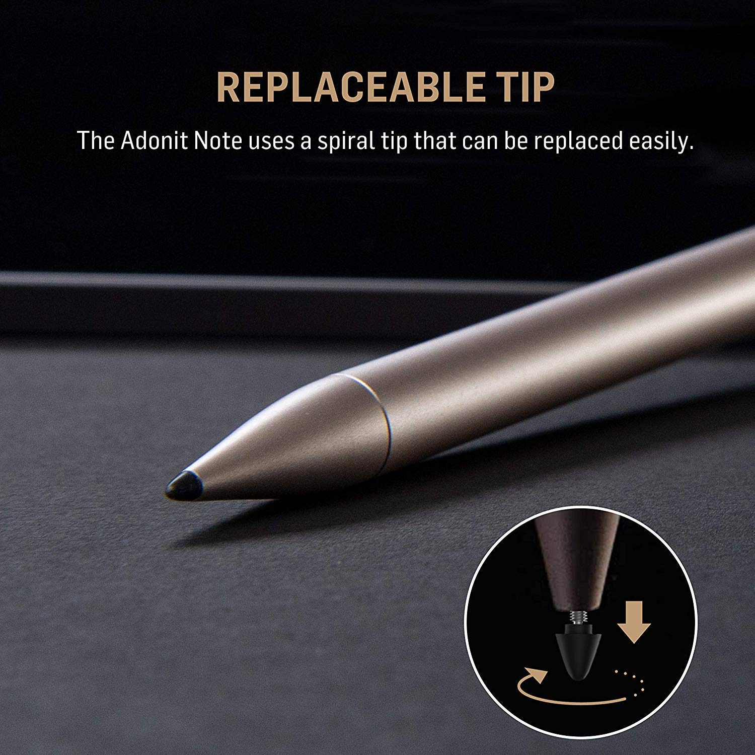 Adonit Note Stylus Pen in Assorted Colours