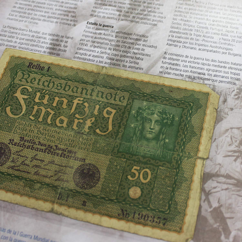 IMPACTO COLECCIONABLES Monedas Antiguas - Colección de Las Guerras del Siglo XX 1914-1991. Monedas, Sellos y Billetes Originales