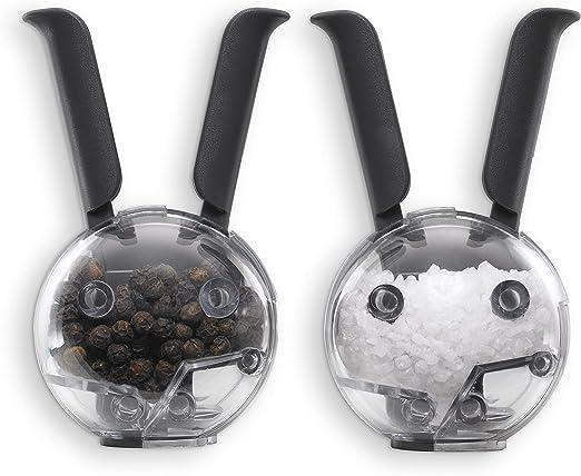 Chefn Mini Magnetic Set Salero/Pimentero Chefn 27491, Negro ...