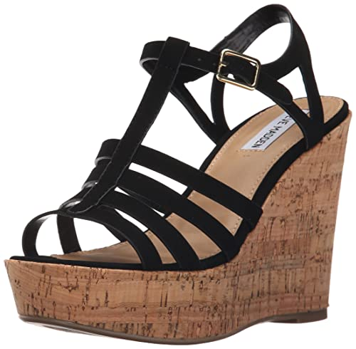 b4b3f0c8d87 Amazon.com | Steve Madden Women's NALLA Wedge Sandal | Platforms ...