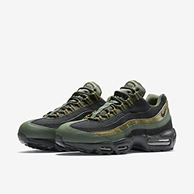 Mens Nike Air Max 95 Essential Carbon Green Black Military Green 749766-300 US 8