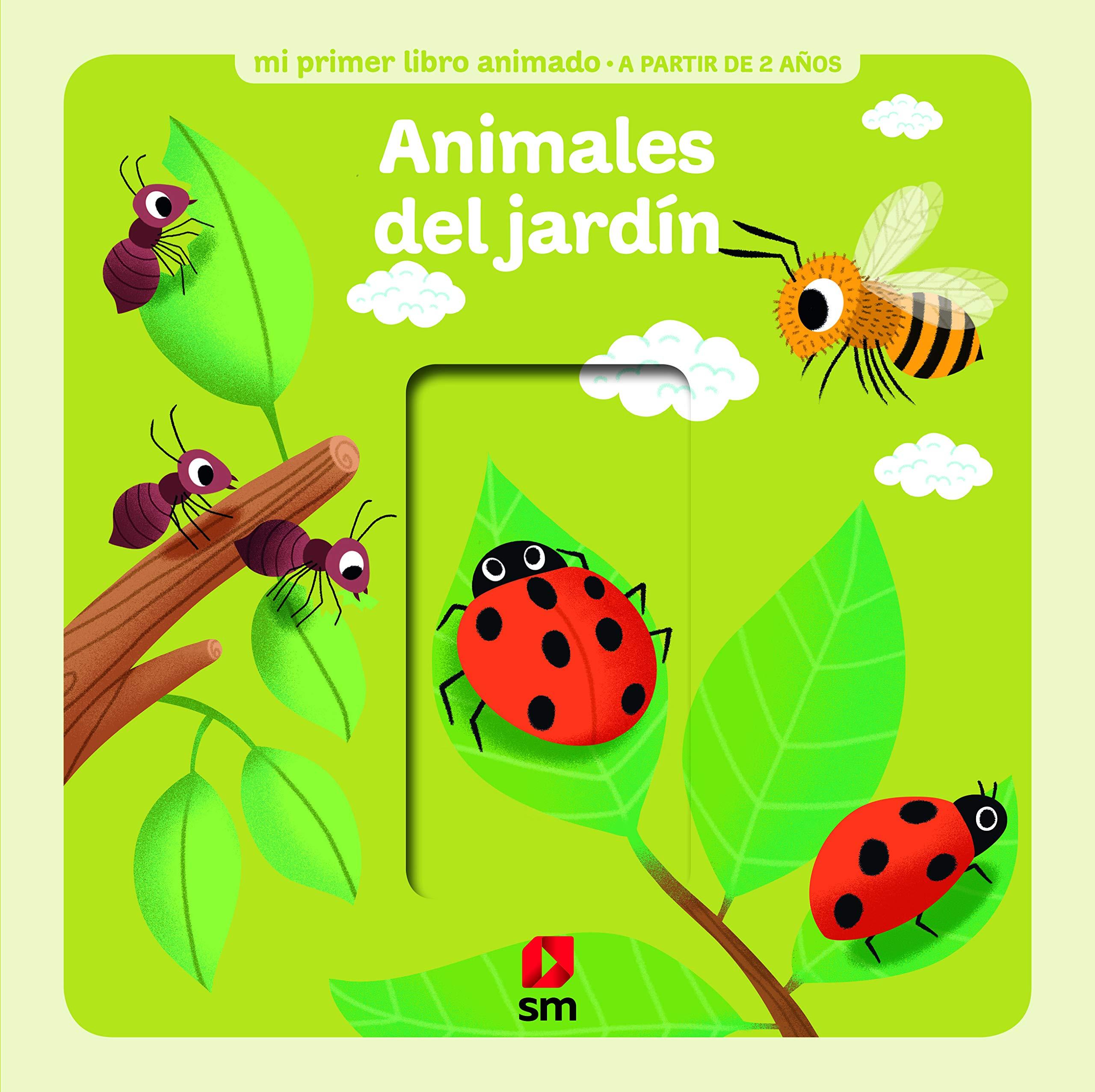 Animales del jardín (Mi primer libro de conocimiento): Amazon.es: Varios Autores,, Baretti, Sonia, Bort Misol, Fernando: Libros