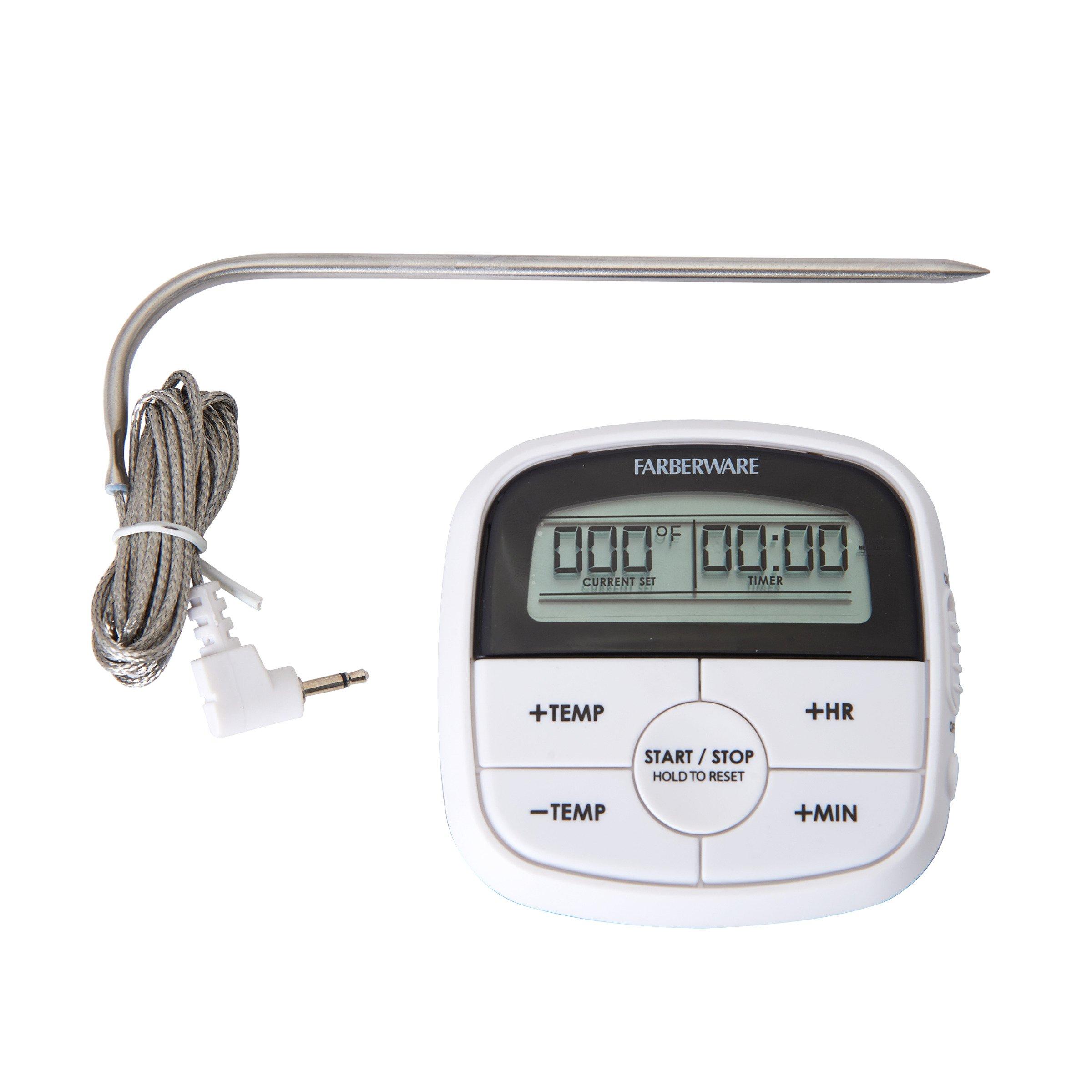 Farberware 5215931 Roast Oven Thermometer, One Size, Black