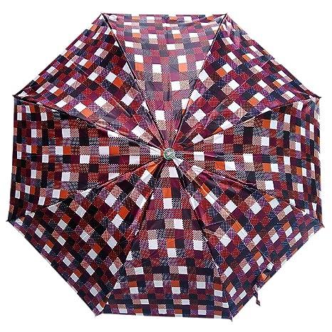 Five Star 2 Fold Umbrella for Women and Men (Multicolour)