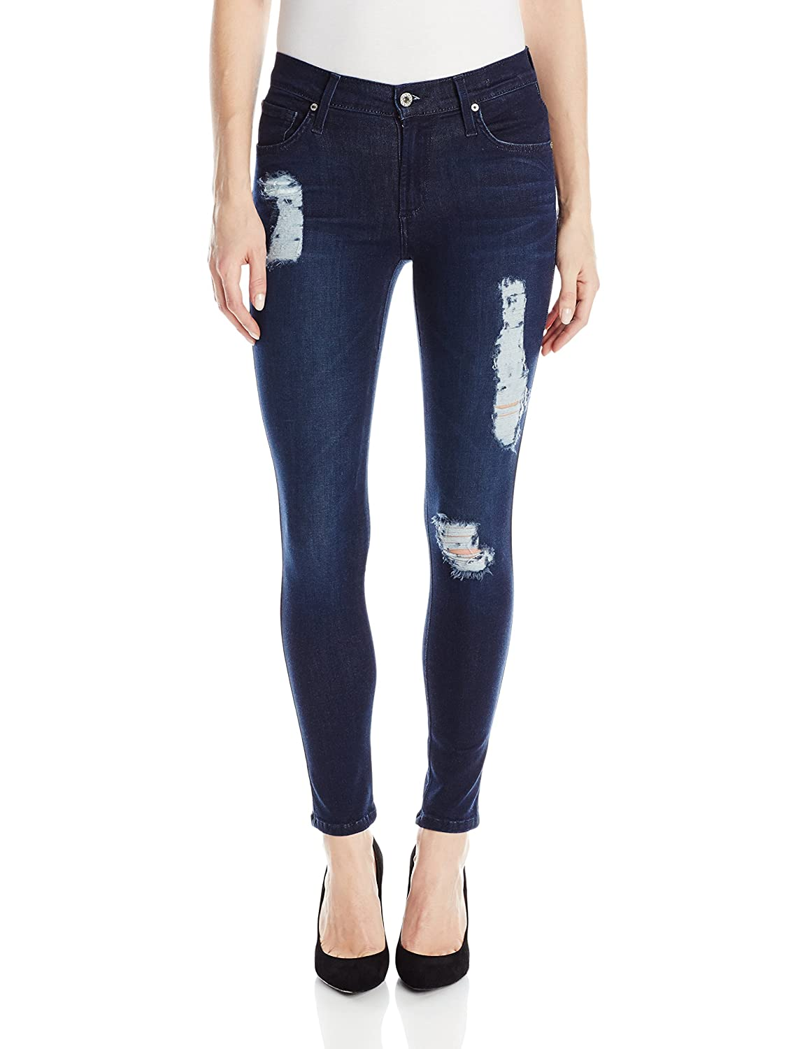 Dark Pyro James Jeans Women's Twiggy Ankle 5Pocket Legging Jean in Dark Pyro