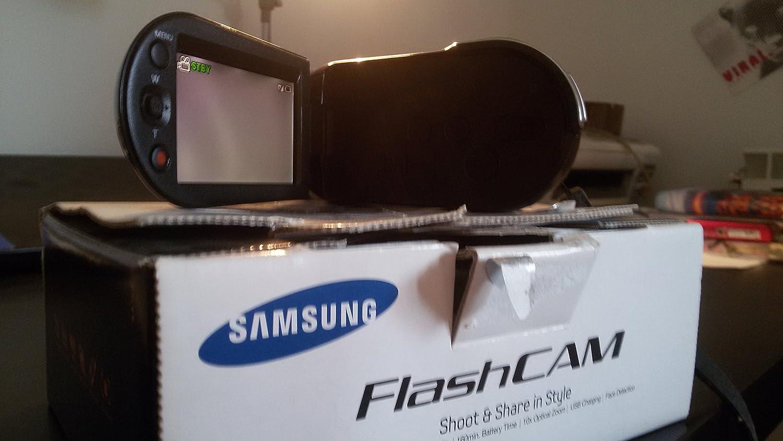 Máquina de Filmar Samsung SMX-C10 Touch 10x Optical Zoom Roja ...