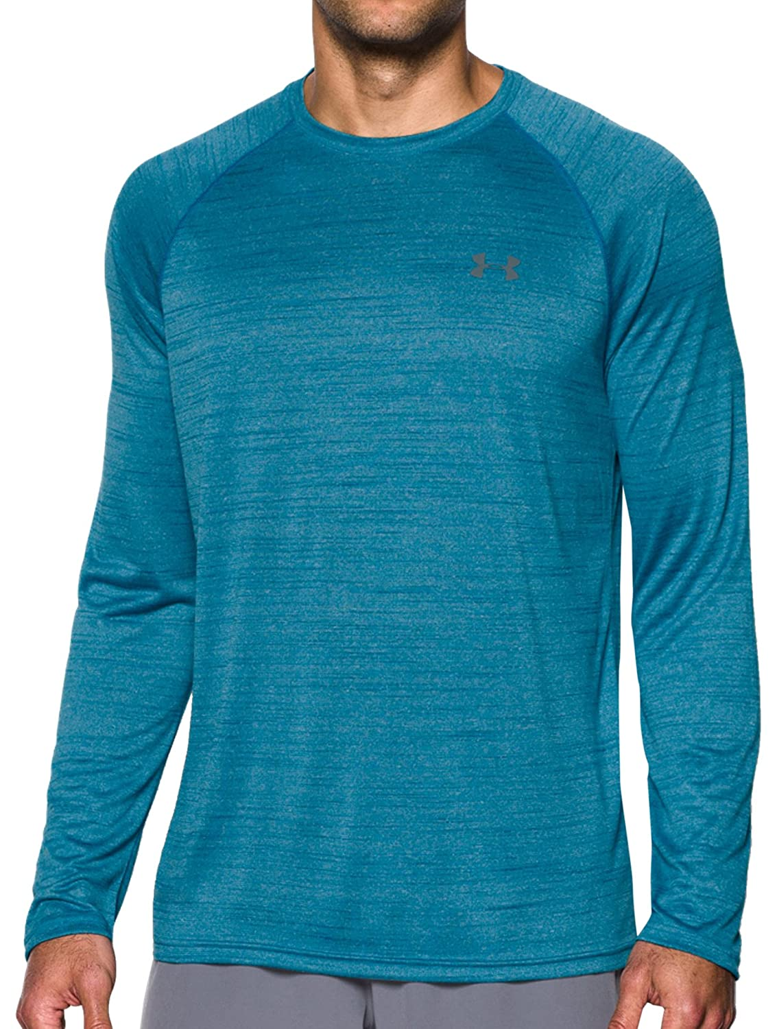 Under Armour Men's Tech Patterned Long Sleeve T-Shirt Under Armour Apparel 1264220