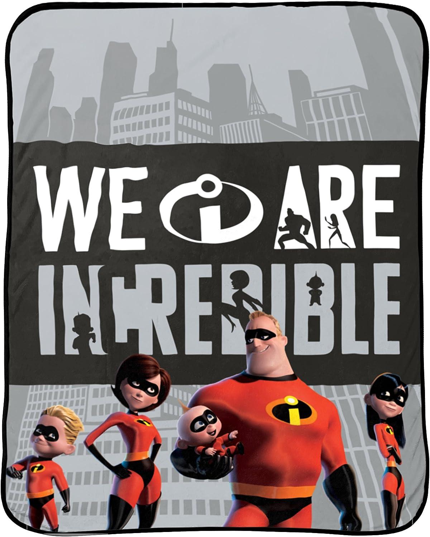 Jay Franco Kids Throw Blanket Incredibles