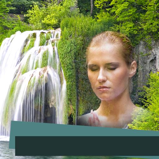 Paradise Falls Waterfall (Waterfall Photo Frames)