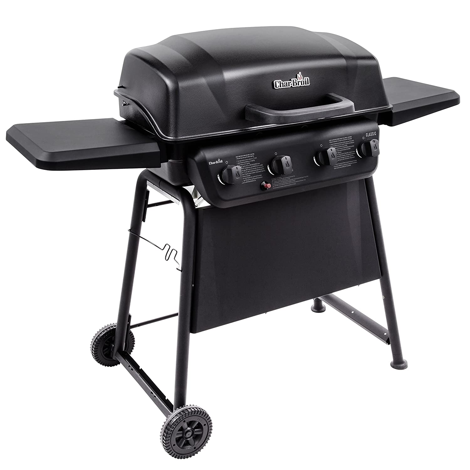amazon com char broil classic 405 4 burner gas grill garden