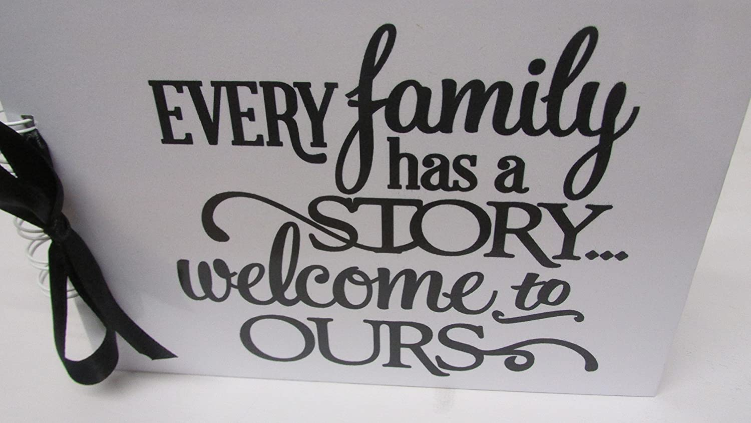 Every Family MEMORY BOOK SCRAPBOOK KEEPSAKE TRAVEL JOURNAL ALBUM PRESENT GIFT ANY OCCASION