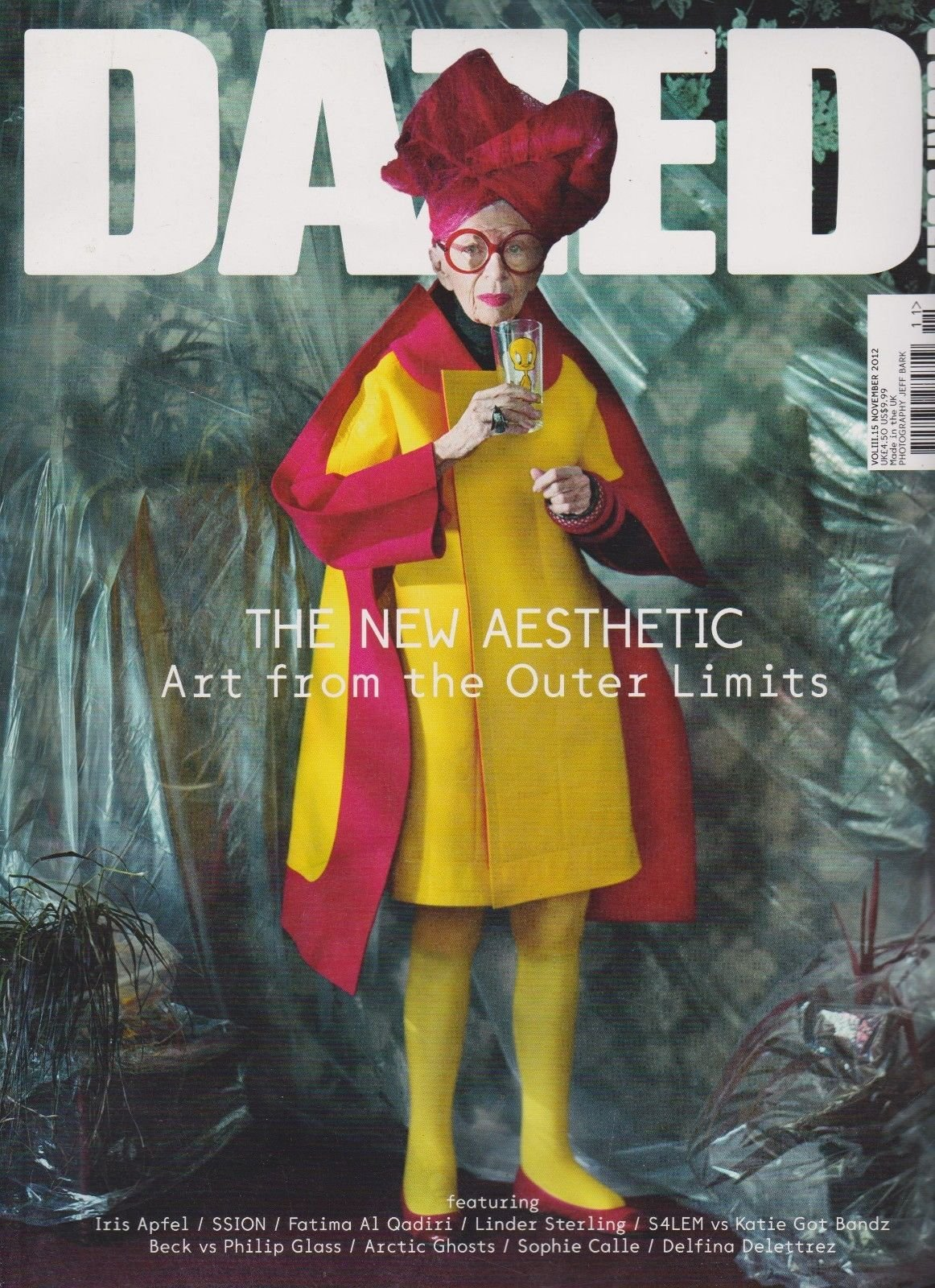 DAZED & CONFUSED Magazine Nov 2012, THE NEW AESTHETIC, ART FROM THE OUTER LIMITS