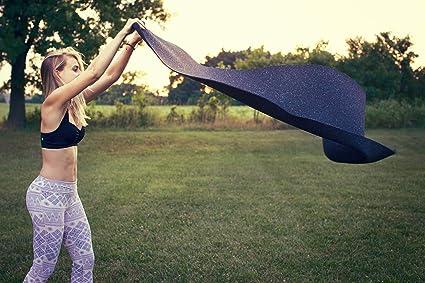 Amazon.com : SUGA Recycled Wetsuit Travel Yoga Mat - 3mm + ...