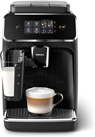 Philips EP2231/40 Cafetera superautomática, Plástico, negro mate ...