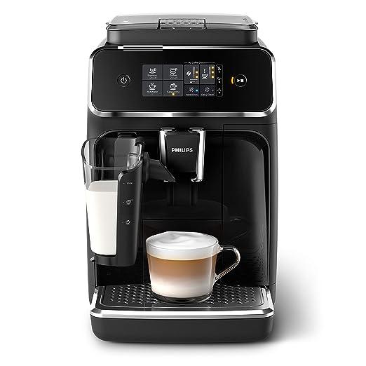 Philips Serie 2200 Lattego ep2231/40 - Cafetera superautomática, 3 bebidas de café, jarra de leche lattego muy facil de limpiar, molinillo cerámico, ...