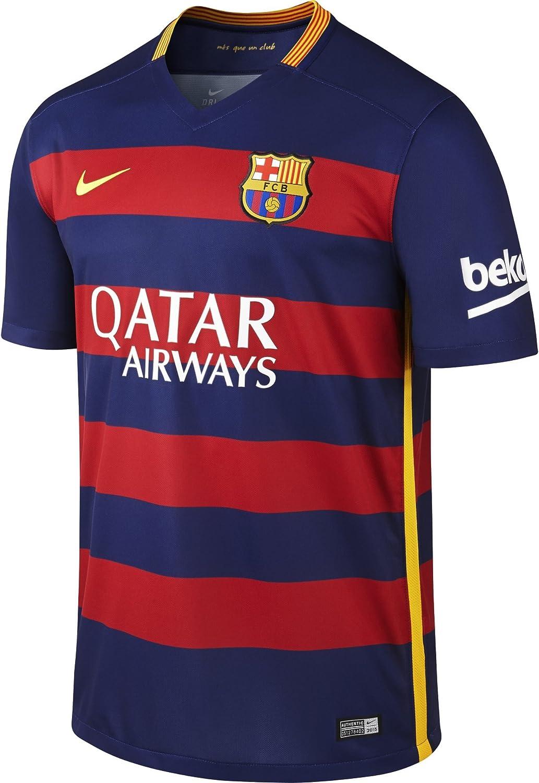 Nike 1º Equipación FC Barcelona 2015/2016 - Camiseta oficial: Amazon.es: Ropa y accesorios