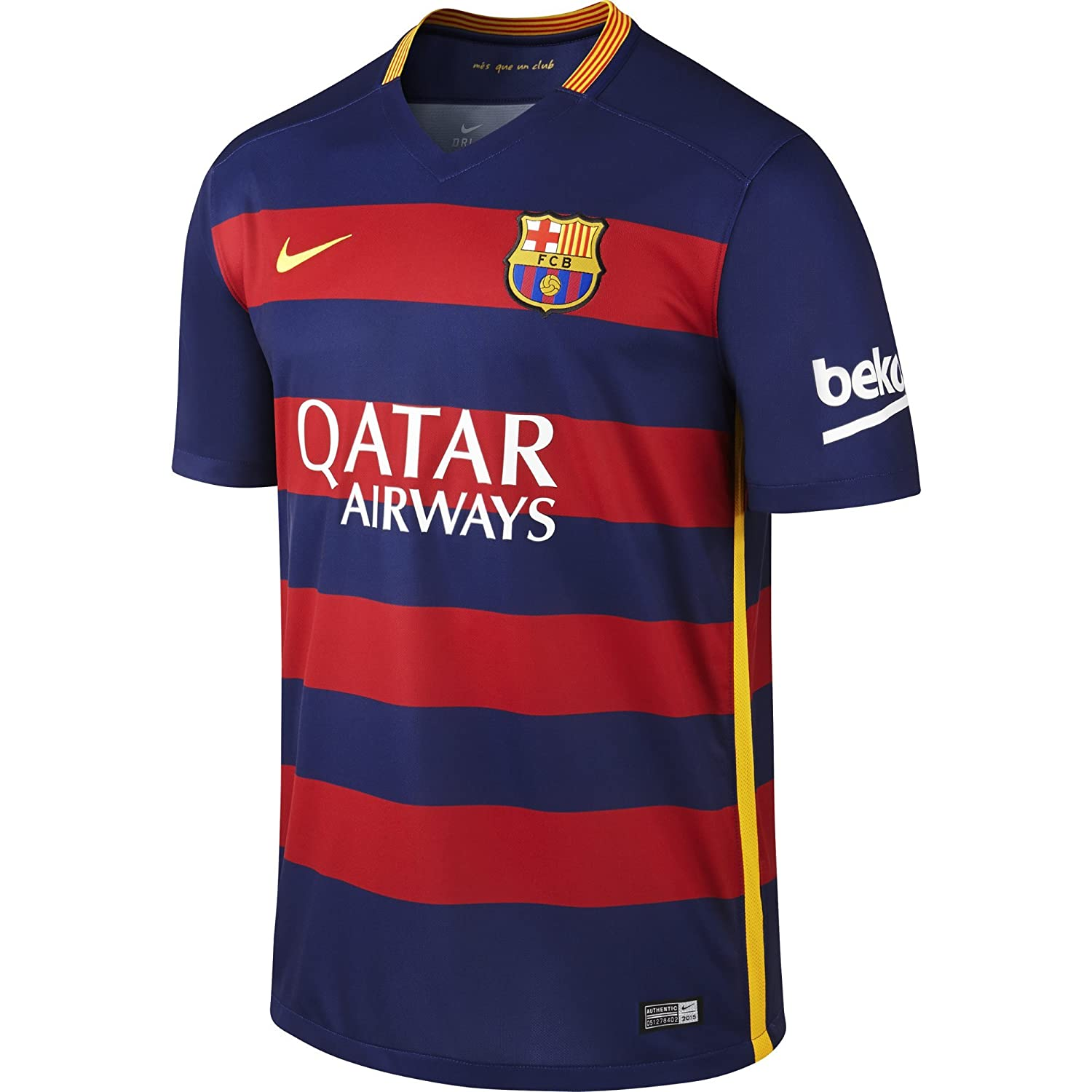 NIKE Mens Barcelona Home Stadium Jersey [LOYAL BLUE]