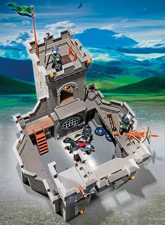 Playmobil 6002 NUEVO Fortaleza de los Caballeros Lobo
