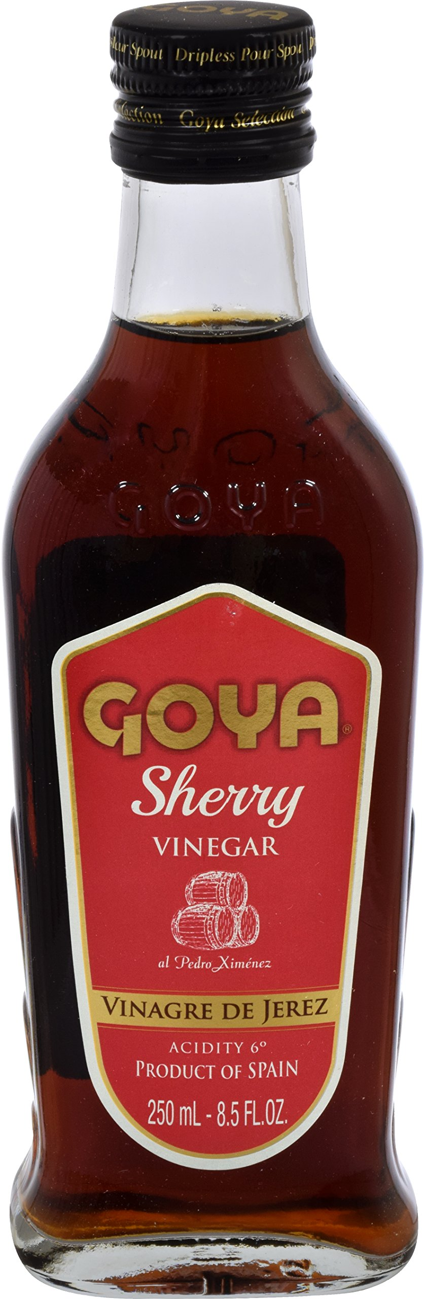 Goya Foods Sherry Vinegar, 8.5 Ounce