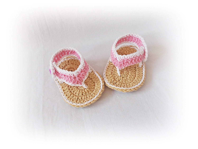 Crochet Baby Flip Flops Baby Sandals