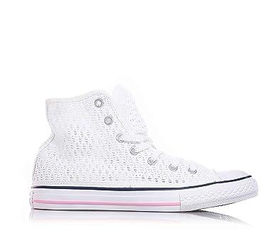 release date: 2d99e 4612f Converse - Weiße Sneakers mit Schnürsenkel, mit Lochmuster ...