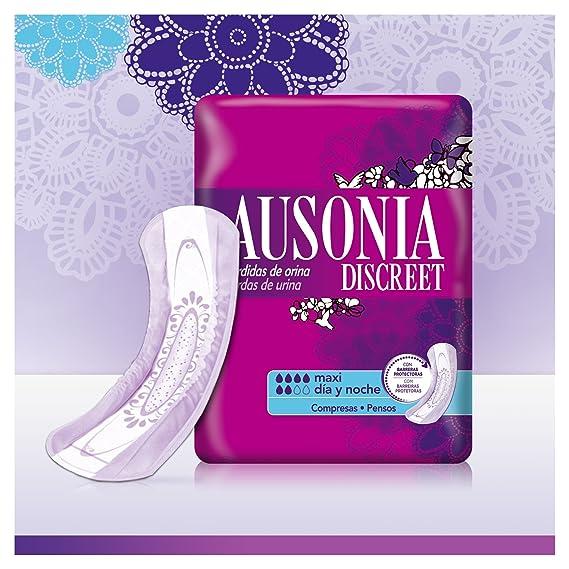 Ausonia Discreet Maxi Día y Noche Compresas para Pérdidas de Orina - 12 Unidades: Amazon.es: Amazon Pantry