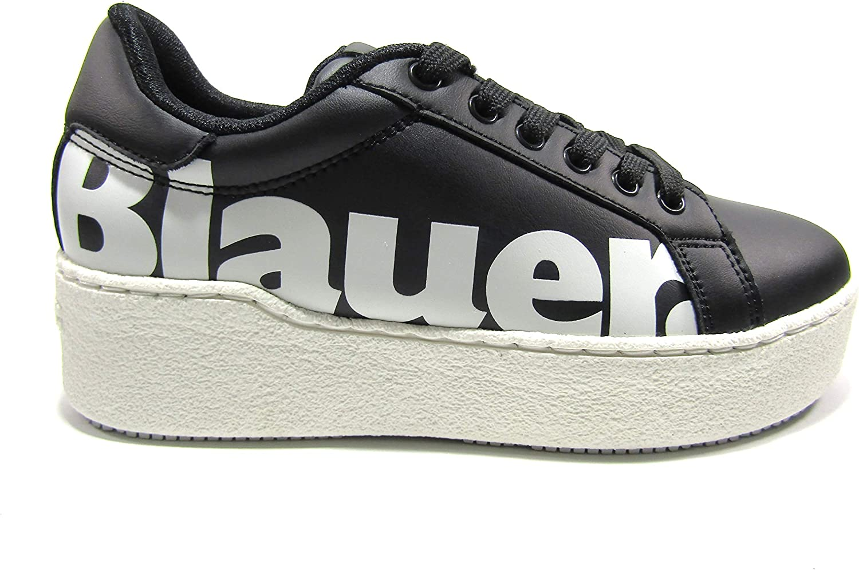 reduzierung Blauer USA Madeline02 sneakers lam black